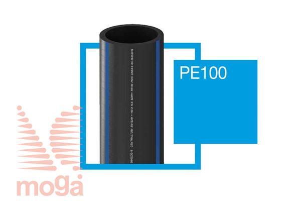 Cev PE100 |FI: 25 mm|PN12,5|