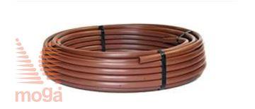 Slika Kapljična cev pod-/nadzemna |FI: 17mm|Pr.: 2,3 L/h|Raz. 30,5 cm|Dripline|
