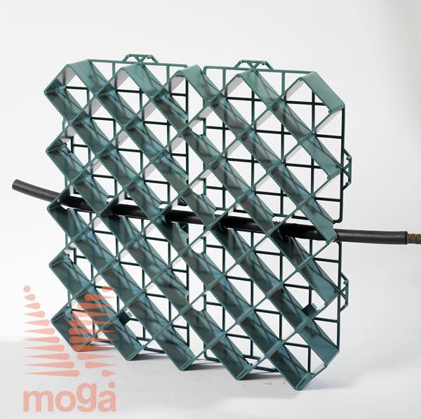 Bild von Travna plošča/rešetka z opcijo DripLine |Zelena|D: 50 cm x Š: 50 cm x V: 5,0 cm|