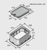Ventilski jašek standard s pokrovom|D: 552 mm x Š: 337 mm x V: 222 mm|