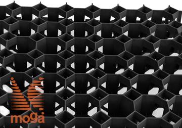 Slika Travna plošča/rešetka Stella |Črna|D: 50 cm x Š: 50 cm x V: 4,0 cm|