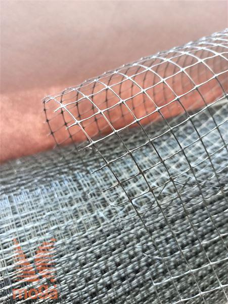 Mreža proti krtom |črn polipropilen|40 g/m2|Okna: 12x12 mm|