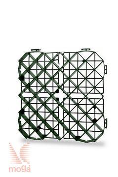 Slika Travna plošča/rešetka z opcijo DripLine SAB|Zelena|D:39,5cm x Š:39,5cm x V:5cm|