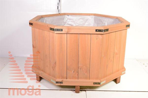 Leseno korito - osmerokotno |D: 110 cm x Š: 110 cm x V: 60 cm|