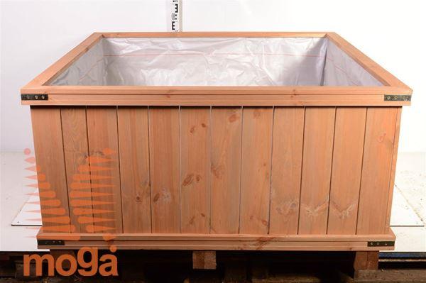 Leseno korito - kvadratno |D: 140 cm x Š: 140 cm x V: 65 cm|