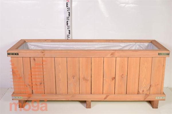 Leseno korito - pravokotno |D: 150 cm x Š: 50 cm x V: 50 cm|