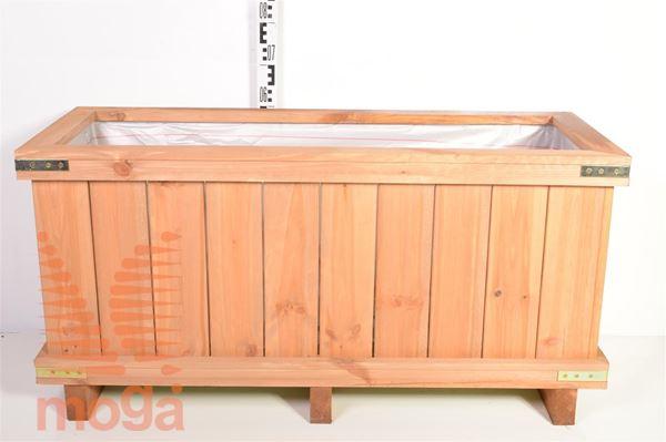 Leseno korito - pravokotno |D: 120 cm x Š: 50 cm x V: 50 cm|