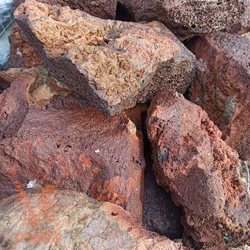 Slika Vulkanska kamnina - Lava - Lapillo|Rjava|Skala|