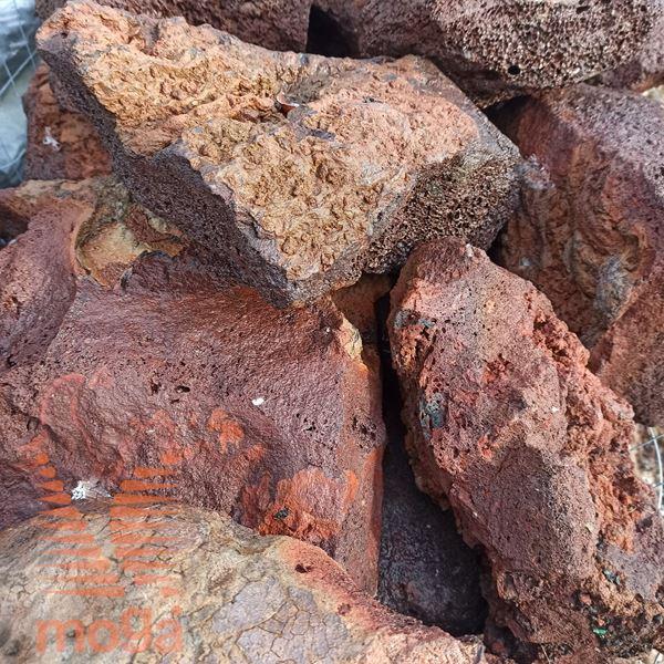 Vulkanska kamnina - Lava - Lapillo|Rjava|Skala|