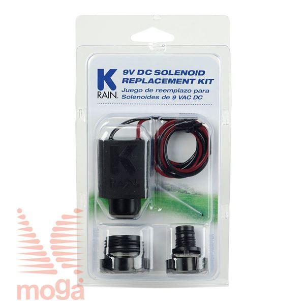 Nadomestna tuljava 9V |+ adapter za Hunter in Rain Bird ventile|K-Rain|
