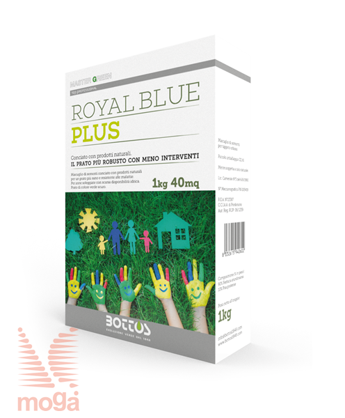 Bild von Travna mešanica Royal Blue Plus |Seme z mikroorganizmi za zelenice|