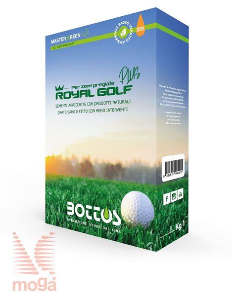 Travna mešanica Live Royal Golf Plus |Z mikroorganizmi za zahtevne površine|1kg|