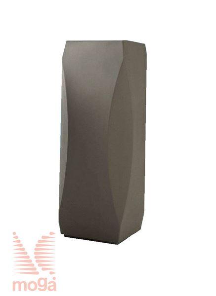 Picture of Pot Lince - Square |Bronze|L: 32/26 cm x W: 32/26 cm x H: 100/25 cm|