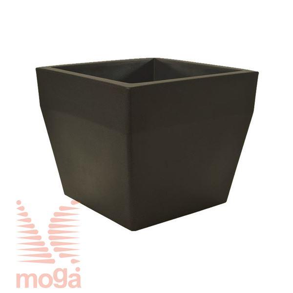 Picture of Pot Acquario - Square |Bronze|L: 40/34 cm x W: 40/34 cm x H: 34cm|Vol: 36 L|