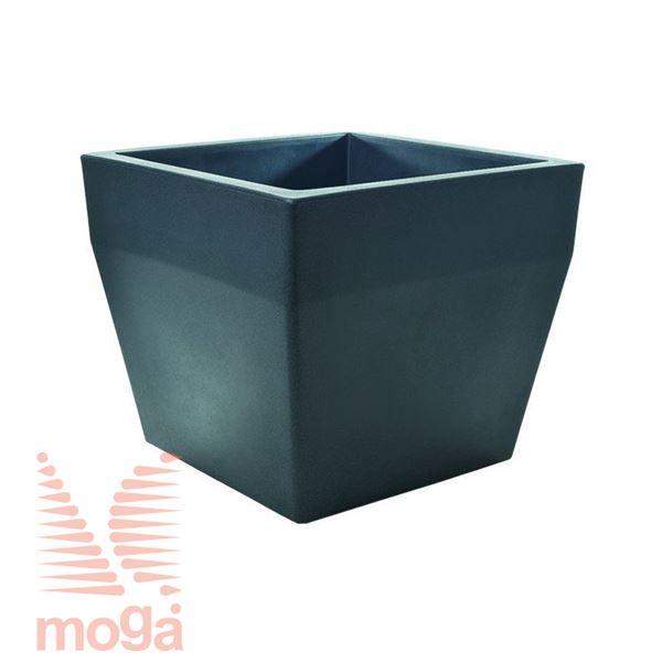 Picture of Pot Acquario - Square |Anthracite|L: 40/34 cm x W: 40/34 cm x H: 34cm|Vol: 36 L|