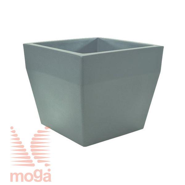 Picture of Pot Acquario - Square |Dove Grey|L: 40/34 cm x W: 40/34 cm x H: 34cm|Vol: 36 L|
