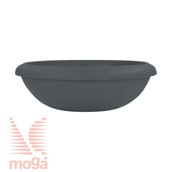 Picture of Pot Virgo |Anthracite|FI: 85/73,5 cm x H: 27 cm|Vol: 83 L|