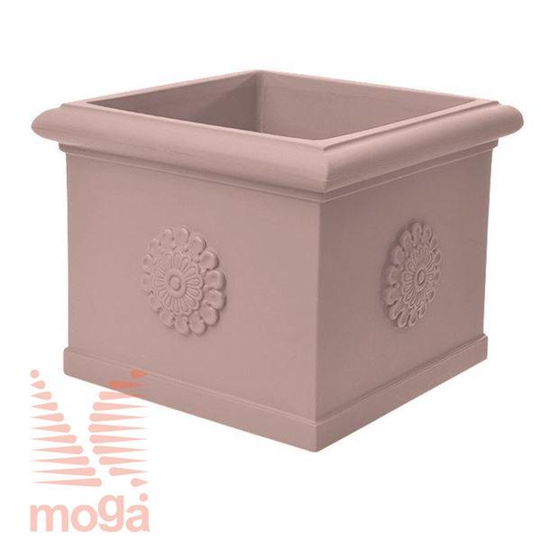 Picture of Pot Idra - Square |Siena|L: 45/36 cm x W: 45/36 cm x H: 40 cm|Vol: 51 L|