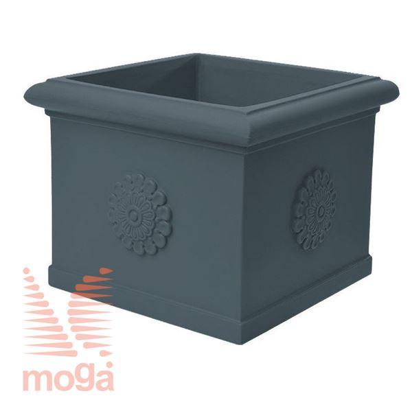 Picture of Pot Idra - Square |Anthracite|L: 45/36 cm x W: 45/36 cm x H: 40 cm|Vol: 51 L|
