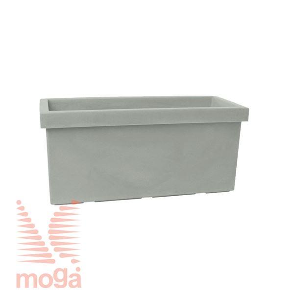 Picture of Pot Sagitta |Dove Grey|L: 50/45,5 cm x W: 22/17 cm x H: 23 cm|Vol: 20 L|