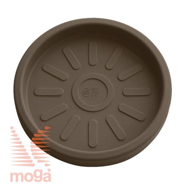 Bild von Untertasse Teiplast - Rund |Bronze|FI: 33/28,5 cm|für Topf Vol: 13 L|