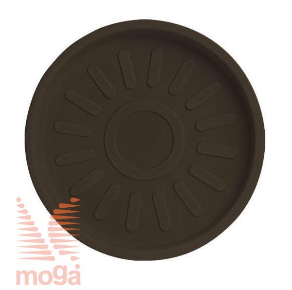 Bild von Untertasse Teiplast - Rund |Bronze|FI: 46/41 cm|für Topf Vol: 91 L|