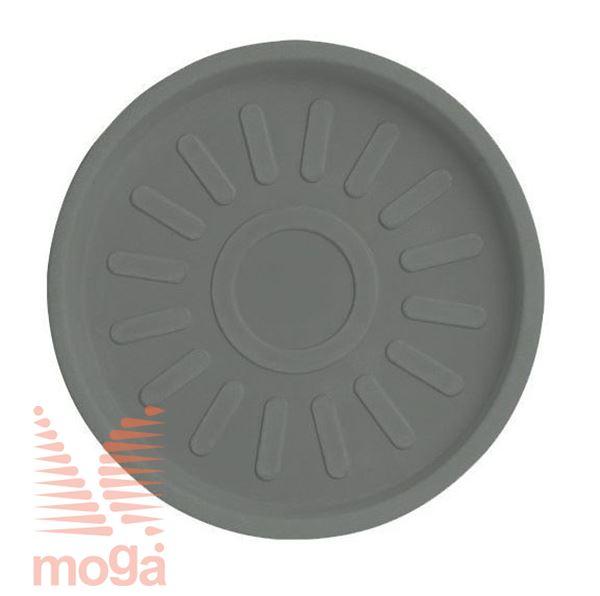 Bild von Untertasse Teiplast - Rund |Taubengrau|FI: 41/37,5 cm|für Topf Vol: 43 L, 48 L, 50 L, 63 L, 80 L|
