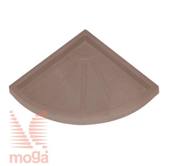 Bild von Untertasse Teiplast - Dreieck |Siena|FI: 31 cm|für Topf Vol: 49 L|
