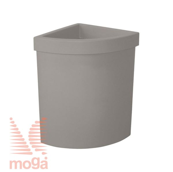 Bild von Topf Vela - Dreieck |Siena|L: 50 cm x B: 36 cm x H: 56 cm|Vol: 47 L|