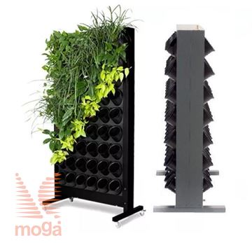 Picture of Bothsided Green walls ALU
